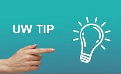 """Afbeelding van """"goed idee die tip"""""""