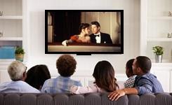 Samen een film op dvd bekijken