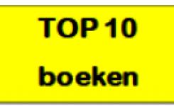 Gele etiket van TOP 10 boeken