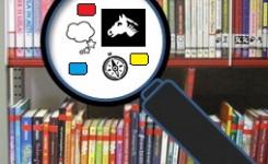 Jeugdboeken zoeken via pictogrammen genres