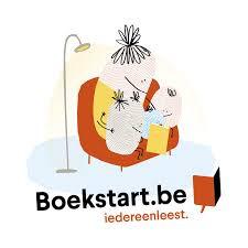 Logo Boekstart oma leest voor aan kleinkinderen