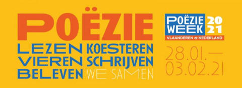 banner poëzieweek, thema 'samen'