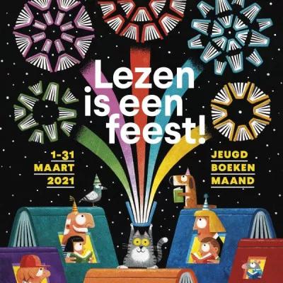 Lezen is een feest : jeugdboekenmaand 2021