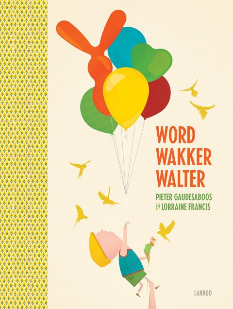 cover van het boek met een slapende jongen met een heleboel ballonnen vast