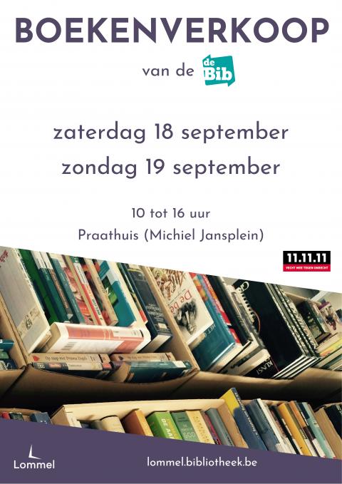 boekenverkoop affiche