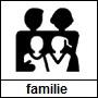 Pictogram genre familie- en streekroman