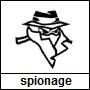 Pictogram genre spionage