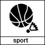 Pictogram genre   sport