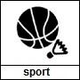 Pictogram genre sport