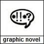 Pictogram tekstballon wat staat voor graphic novel jeugd
