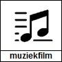 Pictogram muzieknoten wat staat voor muziek- en dansfilms
